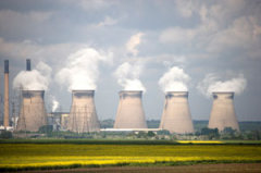 Nuclear power plant in the U.K.