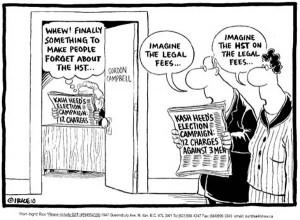 Cartoon by Ingrid Rice.
