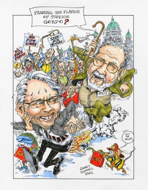 Gerry Hummel cartoon
