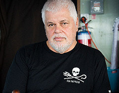 Paul Watson, recently resigned from the Sea Shepherd Society