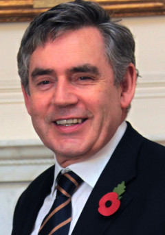 Gordon Brown. Photo from Wikipedia.