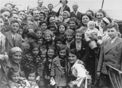 Jewish refugees fleeing Nazi Germany aboard the SS St. Louis. The U.S., Cuba and Canada refused to grant the passengers asylum. Photo: United States Holocaust Memorial Museum.