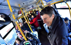 Rafe Mair trusts Mayor Gregor Robertson (pictured) with our transportation future a tad more than the Canadian Taxpayers' Federation – despite big misgivings about transit management to date (Vision Vancouver/Twitter)