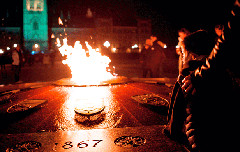 The Centennial Flame on Parliament Hill in Ottawa (Jamie McCaffrey/Flickr CC licence)